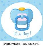 pacifier  vector illustration   Shutterstock .eps vector #1094335343
