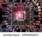 computing machine series.... | Shutterstock . vector #1094342417