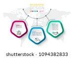 pentagons label infographic...   Shutterstock .eps vector #1094382833