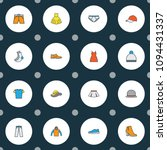garment icons colored line set... | Shutterstock .eps vector #1094431337
