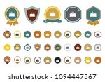 factory building   icon | Shutterstock .eps vector #1094447567
