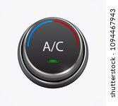 car air condition button ... | Shutterstock .eps vector #1094467943