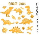 Gingerbread Dinos. Funny...