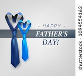 fathers day gift post greeting... | Shutterstock .eps vector #1094554163