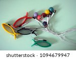 device of measurement of the...   Shutterstock . vector #1094679947