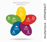 infographic template. vector...   Shutterstock .eps vector #1094696627