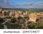 forcalquier  provence  france ... | Shutterstock . vector #1094719877