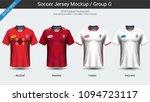 football players uniform ... | Shutterstock .eps vector #1094723117