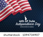 fourth of july independence day ... | Shutterstock .eps vector #1094734907