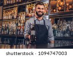 cheerful stylish brutal... | Shutterstock . vector #1094747003
