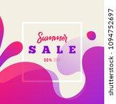creative dynamic fluid banner....   Shutterstock .eps vector #1094752697