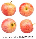 isolated apples. collection of... | Shutterstock . vector #1094759393