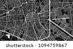 black white map city san luis | Shutterstock .eps vector #1094759867