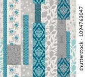 seamless pattern with... | Shutterstock .eps vector #1094763047