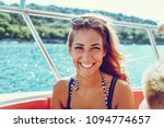 beautiful young smiling woman... | Shutterstock . vector #1094774657