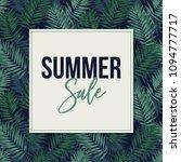 summer sale. web banner  poster ... | Shutterstock .eps vector #1094777717
