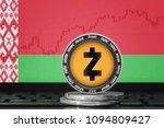 zcash  zec  cryptocurrency ... | Shutterstock . vector #1094809427