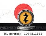 zcash  zec  cryptocurrency ... | Shutterstock . vector #1094811983