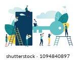 vector flat illustration ... | Shutterstock .eps vector #1094840897