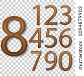 cartoon wooden games numbers...