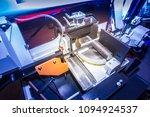 metalworking. machine tools for ... | Shutterstock . vector #1094924537