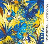 vector illustration tropical... | Shutterstock .eps vector #1094929727