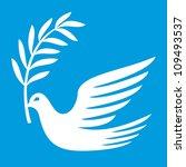 dove of peace | Shutterstock . vector #109493537