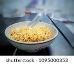 thai mama fried thai mama... | Shutterstock . vector #1095000353