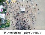 st. petersburg  russia  july 21 ... | Shutterstock . vector #1095044837