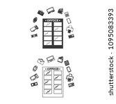 office building vector  icon. | Shutterstock .eps vector #1095083393