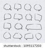 vector hand draw stickers of...   Shutterstock .eps vector #1095117203