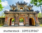 the east gate  hien nhon gate ... | Shutterstock . vector #1095139367