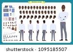 people character business set.... | Shutterstock .eps vector #1095185507
