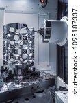 metalworking cnc milling... | Shutterstock . vector #1095187337