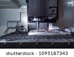 metalworking cnc milling... | Shutterstock . vector #1095187343