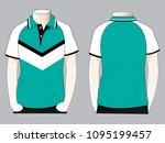polo shirt design   slope...   Shutterstock .eps vector #1095199457