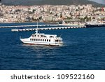 View of Kusadasi town. Turkey - stock photo