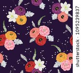 seamless pattern with...   Shutterstock .eps vector #1095239837