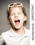 little girl posing for her... | Shutterstock . vector #109527947