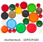 Colorful Plastic Bottle Caps ...