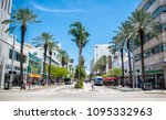 Small photo of Miami, FL, USA - May 8, 2018: Lincoln Road Mall, a mile long promenade boasts a happening street scene with abundant shopping & dining options that attract throngs of local and out-of-town visitors.
