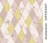 vector marble seamless pattern...   Shutterstock .eps vector #1095353447