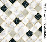 vector marble seamless pattern...   Shutterstock .eps vector #1095353453