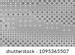 banner gray squares mosaic.... | Shutterstock .eps vector #1095365507