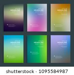 modern abstract annual report ... | Shutterstock .eps vector #1095584987