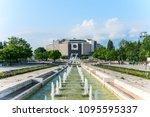 sofia  bulgaria   may 8 2018 ... | Shutterstock . vector #1095595337