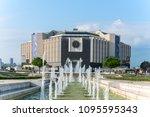 sofia  bulgaria   may 8 2018 ... | Shutterstock . vector #1095595343