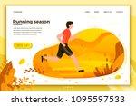 vector illustration    man... | Shutterstock .eps vector #1095597533