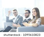 close up.business team... | Shutterstock . vector #1095610823