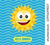 Vector Hello Summer Creative...